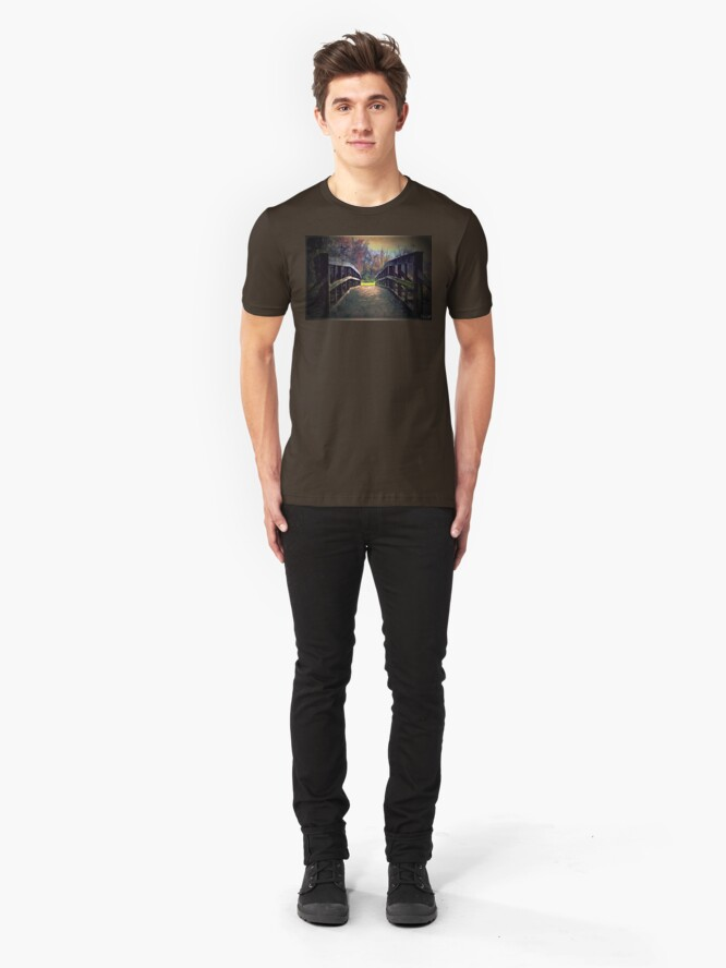 Alternate view of A Bridge to Autumn Slim Fit T-Shirt