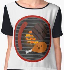 Barbecue  Chiffon Top