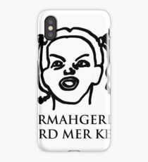 Ermahgerd Er Nerd Mer Kerfer! Ermahgerd Girl. Oh My God I Need My Coffee!! iPhone Case/Skin