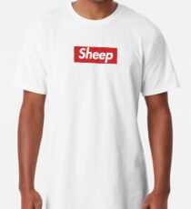 Camiseta larga IDubbbzTV Sheep Supreme sudadera con capucha / camisa