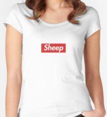 IDubbbzTV Sheep Supreme Hoodie/Shirt Women's Fitted Scoop T-Shirt