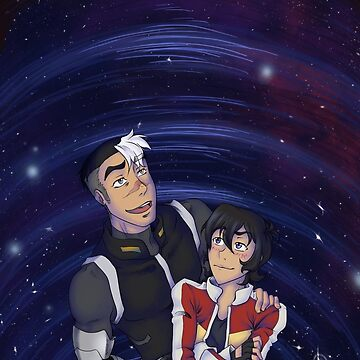 Shiro and Keith looking at the sky by Rem8