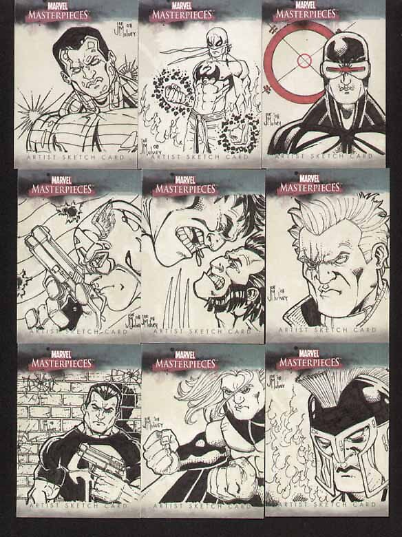 Marvel Masterpiece card set 2 by Mulv