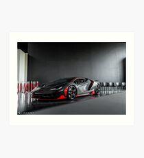 Lamborghini Centenario Art Print