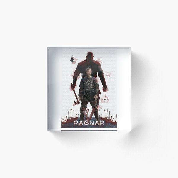 Ragnar Lothbrok - Vikings Acrylic Block
