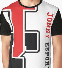 Jonny Esports (Cutoff Logo) Graphic T-Shirt