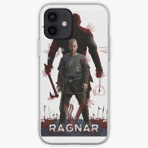 Ragnar Lothbrok - Vikings Coque souple iPhone