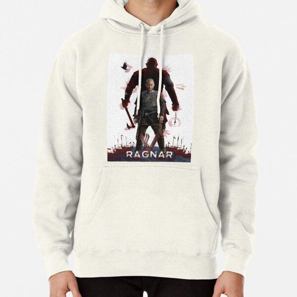 Ragnar Lothbrok - Vikings Sweat à capuche épais