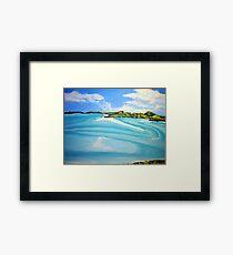 Whitsunday Islands Queensland Australia Framed Print