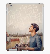 Restless and Loud iPad Case/Skin