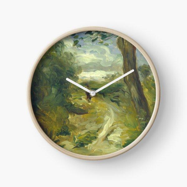 Landscape Between Storms Oil Painting by Auguste Renoir Clock