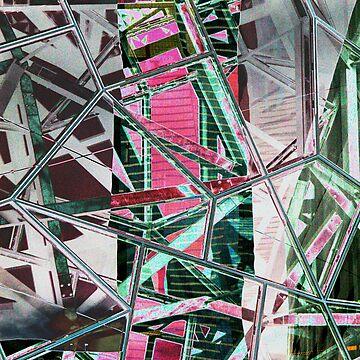 Eureka (Neon POP Cubism) by trekka