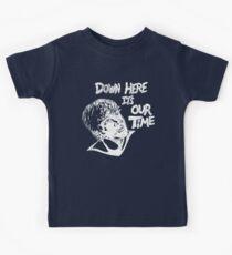 Es ist unsere Zeit hier unten (White Print) Kinder T-Shirt
