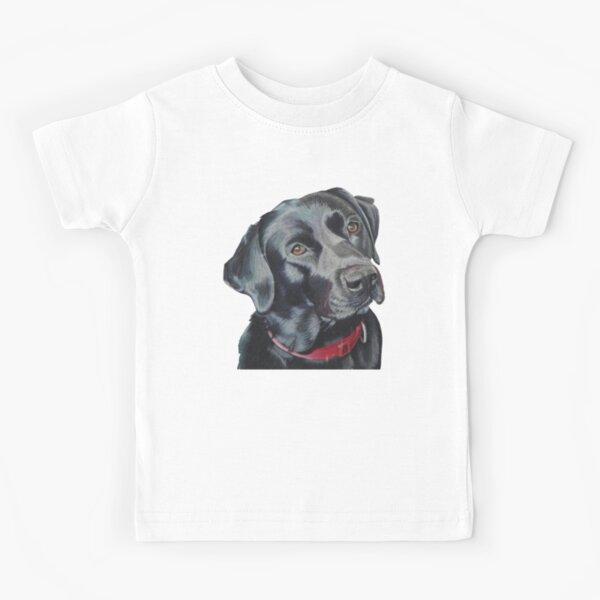 Indi the black Labrador Kids T-Shirt