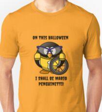 Halloween Penguin Racing Graphic T-Shirt