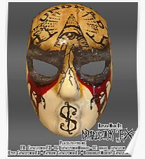 J-Dog Day of the Dead Mask Replica Poster