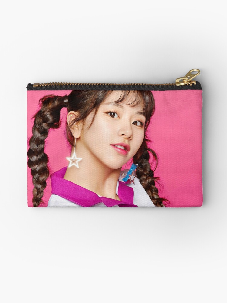 Twice One More Time Chaeyoung Zipper Pouch By Twicemporium