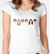 The Gang (That '70s Show) Women's Fitted Scoop T-Shirt
