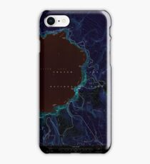 USGS Topo Map Oregon Crater Lake East 279503 1999 24000 Inverted iPhone 8 Case