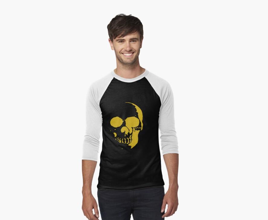 golden skull by jedidiah2121
