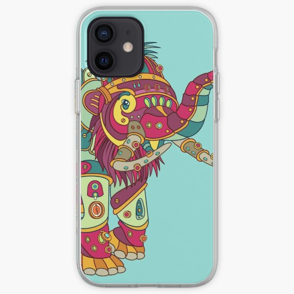 Mammoth, from the AlphaPod collection iPhone Soft Case