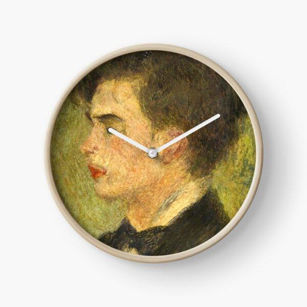 Georges Rivière Oil Painting by Auguste Renoir Clock
