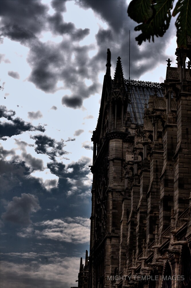 Gothic Church  by MIGHTY TEMPLE IMAGES