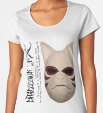 Anbu Black Ops Mask - Naruto Women's Premium T-Shirt
