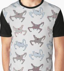 Headcrabs pattern Graphic T-Shirt