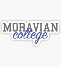 Moravian College (Cursive 1) Sticker