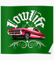 Auto Series 327 Lowrider Poster