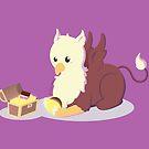 Kawaii fantasy animals - Griffin by SilveryDreams