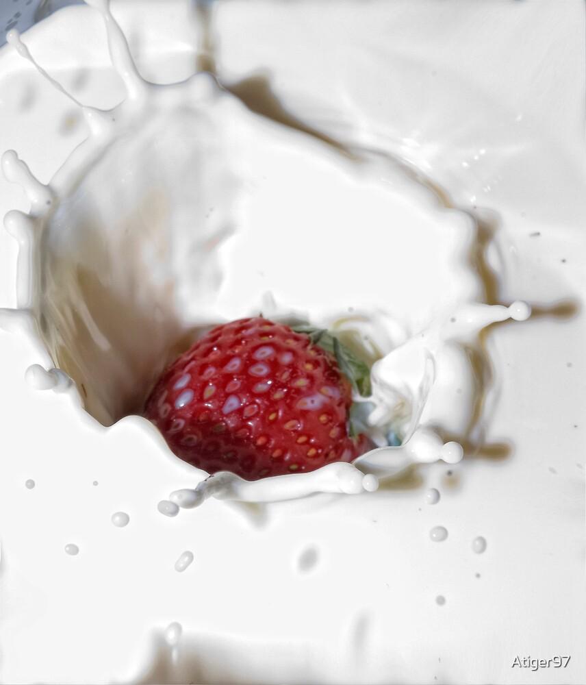 strawberry drop by Atiger97
