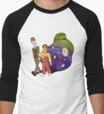 Time Travel Men's Baseball ¾ T-Shirt
