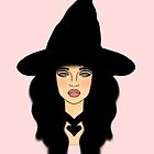 Cute witch by Smjjms