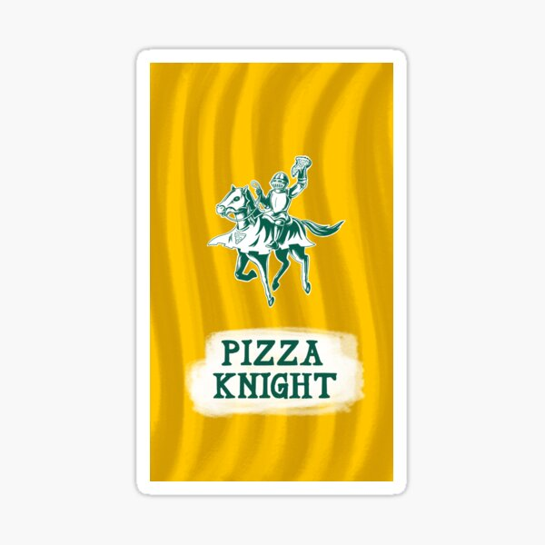 Pizza Knight Sticker