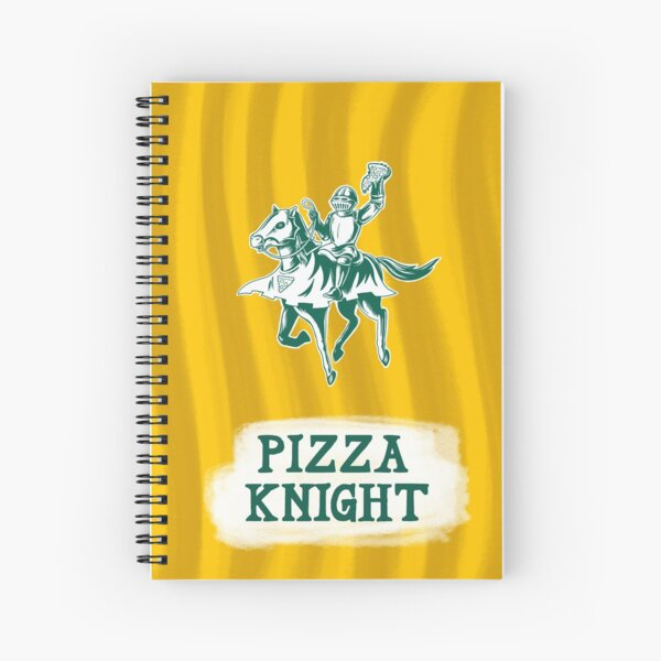 Pizza Knight Spiral Notebook