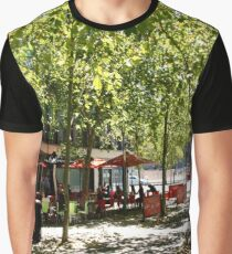 Street Cafes  Graphic T-Shirt