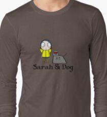 Sarah & Dog Long Sleeve T-Shirt