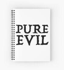 Cuaderno de espiral Pura maldad