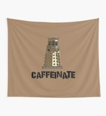 Iskybibblle Products /CAFFEINATE Wall Tapestry