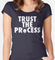 Trust The Process 1 Women's Fitted Scoop T-Shirt