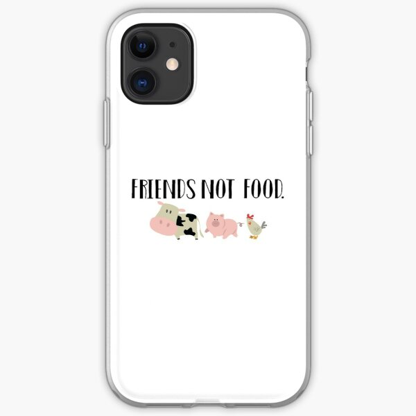 Friends Not Food - Animals iPhone Soft Case