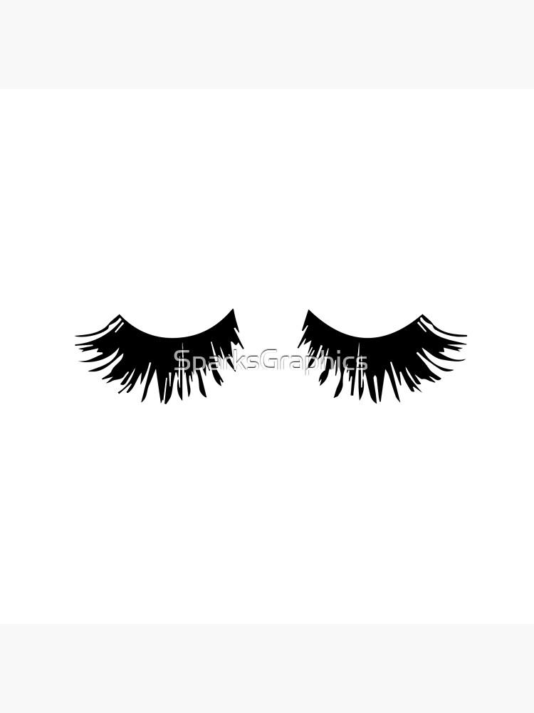 Eyelash Print by SparksGraphics
