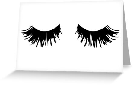 Eyelash Print by SparksGraphics