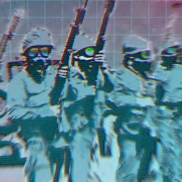 Born to Kill - Fashwave - Vaporwave de ChanTees