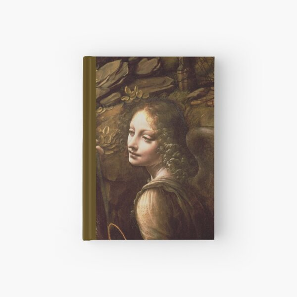 "Leonardo da Vinci ""The Virgin of the Rocks (London)"" Angel Hardcover Journal"
