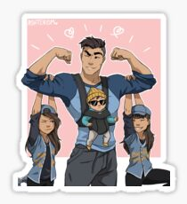 Best Dad Sticker
