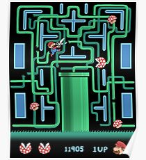 Pac-Mario Poster