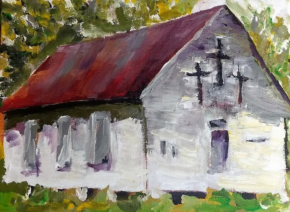 Rural TN Church Series No 23 by Robyn Barber